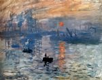 claude monet impression sunrise oil painting