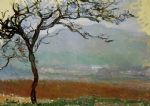 landscape at giverny by claude monet painting