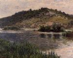 claude monet landscape at port villez painting