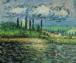 claude monet landscape with thunderstorm painting 35958