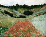 claude monet poppy field in a hollow near giverny painting 81692