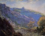 sunlight on the petit cruese by claude monet painting