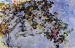 claude monet the rose bush painting 84136