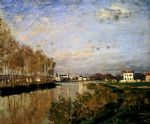 claude monet the seine at argenteuil art