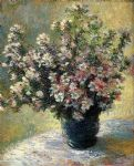 claude monet vase of flowers painting 84761