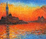 claude monet venice twilight art