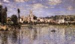 vetheuil in summer by claude monet painting