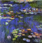water lilies 1914 by claude monet painting