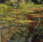 art oil paintings - water lilies 27 by claude monet
