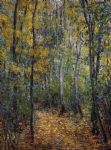 claude monet wood lane painting