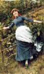 a summer s folly by daniel ridgway knight painting