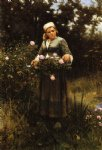 daniel ridgway knight gathering roses painting 35846