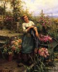 daniel ridgway knight the flower boat painting 83592