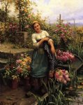 daniel ridgway knight the flower boat painting 35870