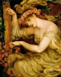 dante gabriel rossetti a sea spell oil paintings