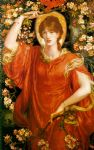 dante gabriel rossetti a vision of fiammetta oil paintings