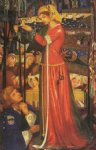 dante gabriel rossetti before the battle painting