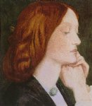 dante gabriel rossetti elizabeth siddal oil paintings