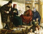 dante gabriel rossetti giotto painting the portrait of dante print