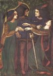dante gabriel rossetti how they met themselves ii print