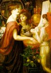 dante gabriel rossetti la bella mano oil paintings