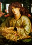 dante gabriel rossetti la donna della finestra oil paintings