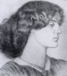 dante gabriel rossetti portrait of jane morris paintings