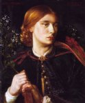 dante gabriel rossetti portrait of maria leathart painting