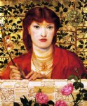 dante gabriel rossetti regina cordium iii oil paintings