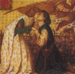dante gabriel rossetti roman de la rose oil paintings