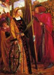 dante gabriel rossetti saint catherine paintings