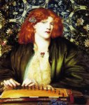 dante gabriel rossetti the blue bower paintings