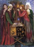 dante gabriel rossetti the blue closet oil paintings