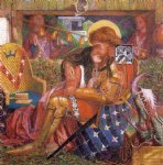 dante gabriel rossetti wedding of st george and the princess the oil paintings