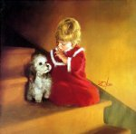 christmas secret by donald zolan painting