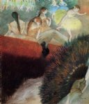 edgar degas at the ballet oil painting