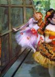 edgar degas ballet dancers in butterfly costumes detail painting-85476
