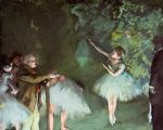 edgar degas ballet rehearsal paintings