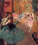ballet oil paintings - ballet scene ii by edgar degas