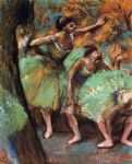 dancers iv by edgar degas painting