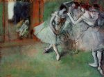 edgar degas group of dancers painting