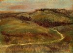 landscape ii by edgar degas painting