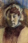 edgar degas portrait of madame ernest may painting