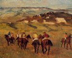 edgar degas racehorses ii paintings