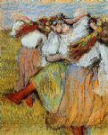 edgar degas russian dancers v painting