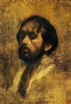 portrait paintings - self portrait ii by edgar degas