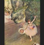 edgar degas star of the ballet painting