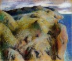 edgar degas steep coast painting