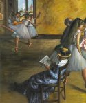 edgar degas the ballet class painting 35441