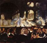 edgar degas the ballet scene painting